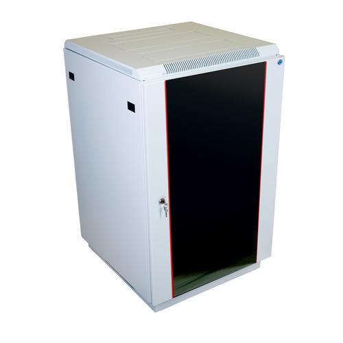 Шкаф коммутационный ЦМО (ШТК-М-27.6.10-1ААА) 27U 600x1020мм пер.дв.стекл задн.дв.перфор. 2 бок.пан.