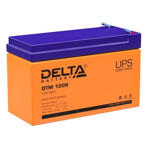 Аккумуляторная батарея для ИБП Delta DTM 1209 12В, 9Ач