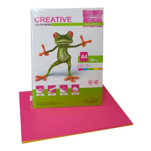 Бумага Creative БНPR-50R A4/80г/м2/50л./радуга неон (5цветов) универсальная бумага ballet brilliant a4 80г м2 500 листов 168cie