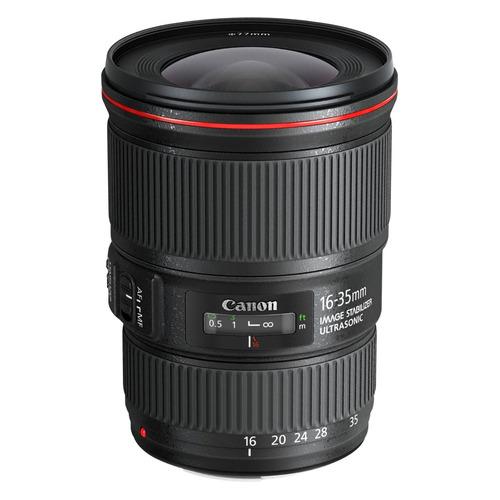 Фото - Объектив CANON 16-35mm f/4L EF IS USM, Canon EF, черный [9518b005] бленда fujimi fbew83h для обьектива canon ef 24 105mm f 4l is usm