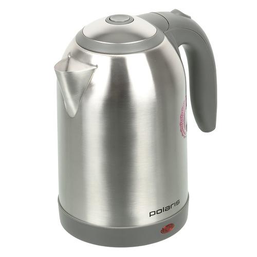 Чайник электрический POLARIS PWK 1864CA, 1800Вт, серебристый чайник электрический polaris pwk 1864ca 1800вт серебристый