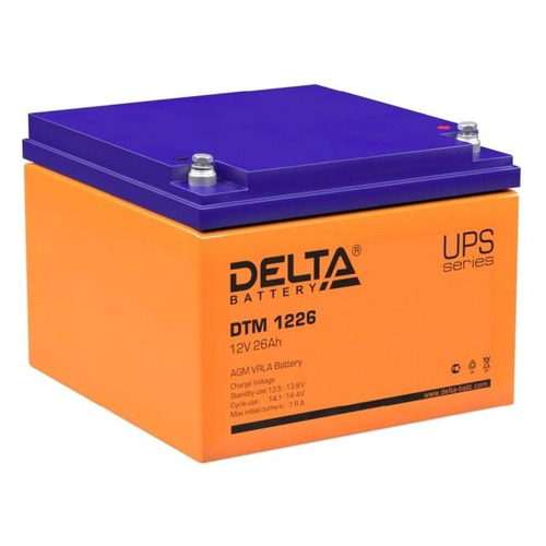 Аккумуляторная батарея для ИБП DELTA DTM 1226 12В, 26Ач