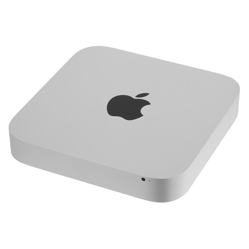 Компьютер APPLE Mac mini MGEQ2RU/A, Intel Core i5 4308U, LPDDR3 8Гб, 1000Гб, Intel Iris Graphics, CR, Mac OS X, серебристый компьютер apple mac mini mgen2ru a intel core i5 4278u lpddr3 8гб 1000гб intel iris graphics cr mac os x серебристый