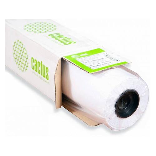 Фотобумага Cactus CS-PM140-61030 610мм-30м/140г/м2/белый матовое для струйной печати втулка:50.8мм ( стоимость