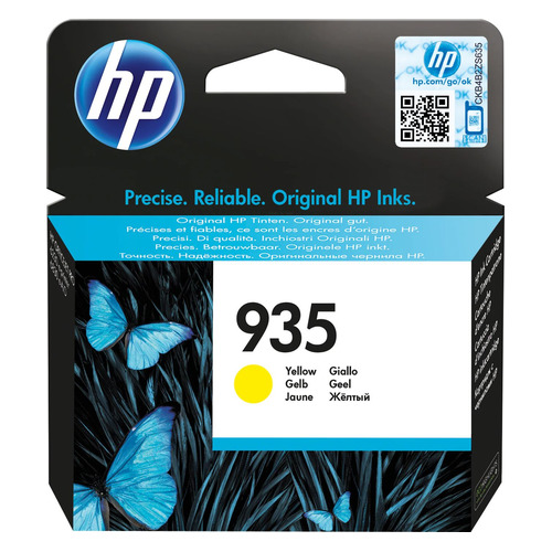 Картридж HP 935 желтый [c2p22ae] картридж hp 935 yellow c2p22ae