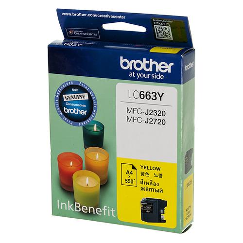 цена на Картридж BROTHER LC663Y, желтый