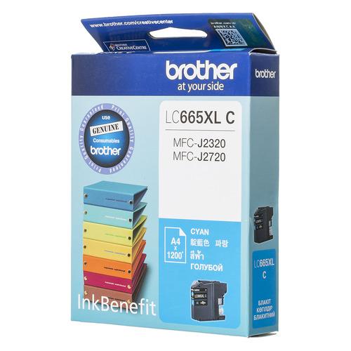 цена на Картридж BROTHER LC665XLC, голубой