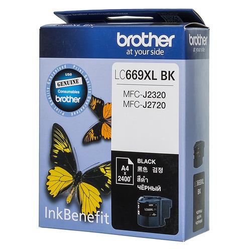 цена на Картридж BROTHER LC669XLBK, черный