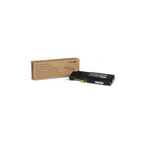 Картридж XEROX 106R02251, желтый принт картридж xerox 106r02251 желтый 2k phaser 6600 wc 6605