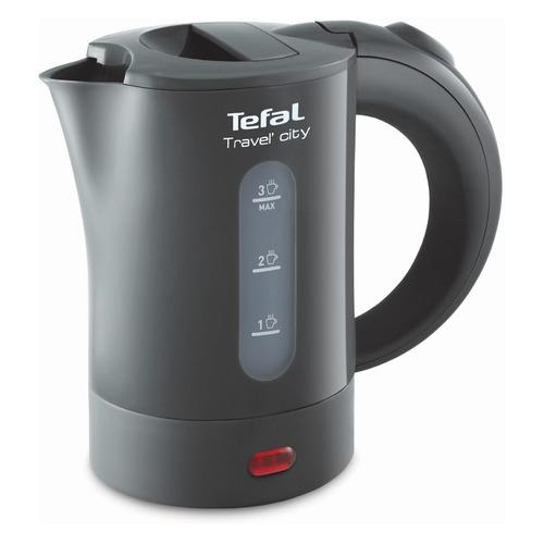 Чайник электрический TEFAL KO120B30, 650Вт, серый цена 2017