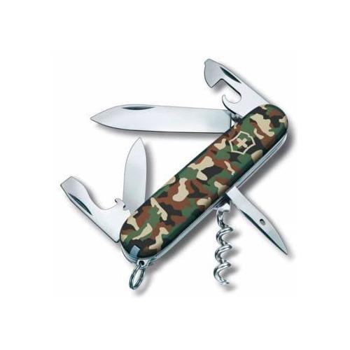 Складной нож VICTORINOX Spartan, 12 функций, 91мм, камуфляж нож перочинный victorinox spartan 91мм 12 функций белый 1 3603 7