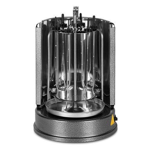 Шашлычница электрическая Kitfort KT-1404 1000Вт серебристый