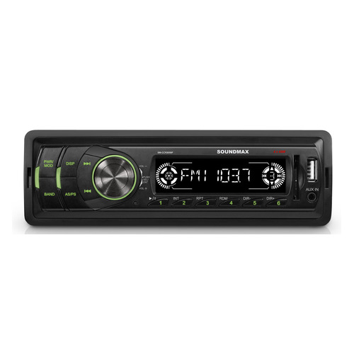 Автомагнитола SOUNDMAX SM-CCR3050F, USB, SD/MMC автомагнитола phantom dv 7033 usb sd