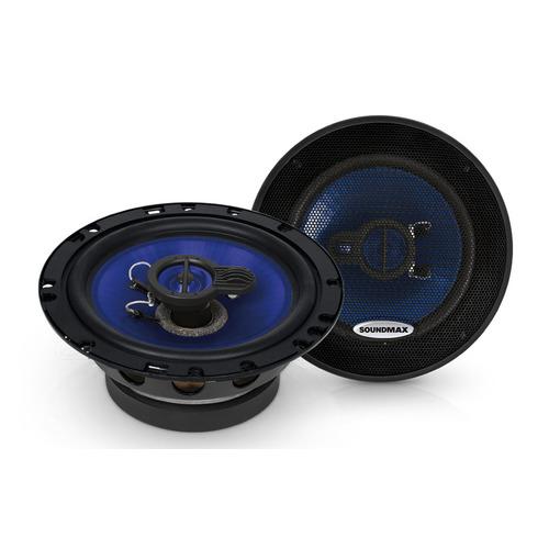 Колонки автомобильные Soundmax SM-CSE603, 16 см (6 дюйм.), комплект 2 шт. автоакустика soundmax sm cse603
