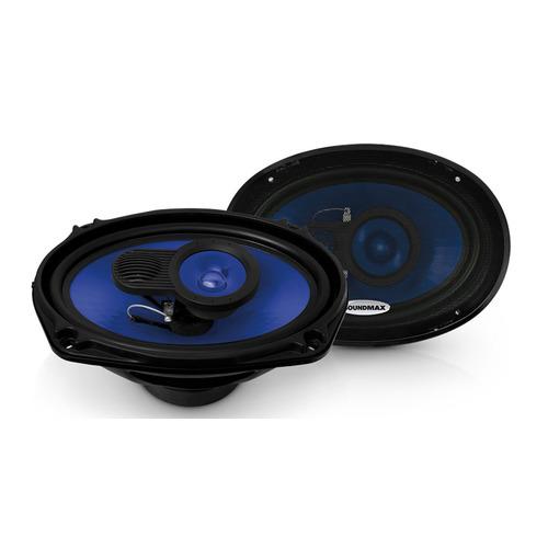 Колонки автомобильные Soundmax SM-CSE693, 15x23 см (6x9 дюйм.), комплект 2 шт.