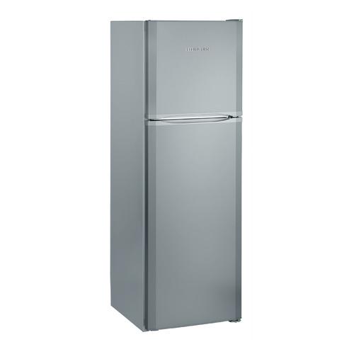 лучшая цена Холодильник LIEBHERR CTsl 3306, двухкамерный, серебристый [ctsl3306]