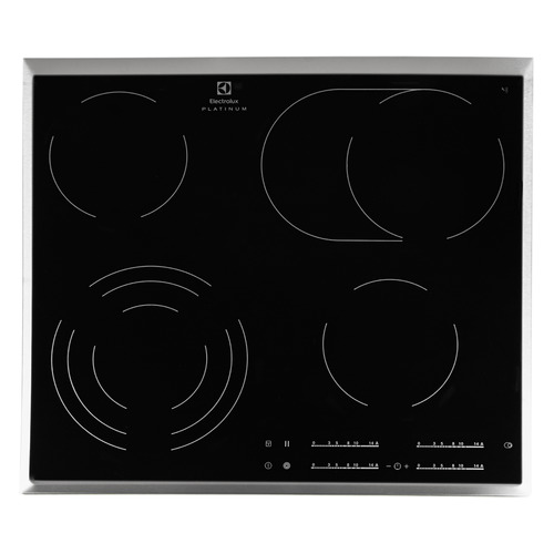 Варочная панель ELECTROLUX EHF96547XK, Hi-Light, независимая, черный