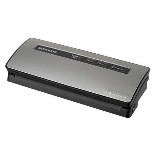 цена на Вакуумный упаковщик Redmond RVS-M021 250Вт серебристый/черный