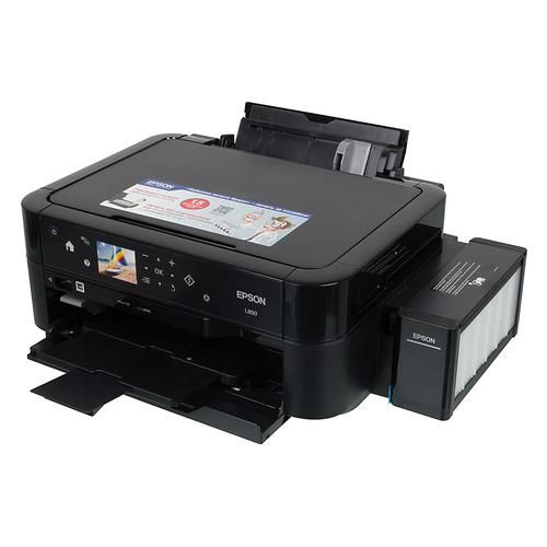 Фото - МФУ струйный EPSON L850, A4, цветной, струйный, черный [c11ce31402] мфу epson l850 c11ce31402