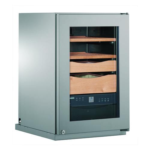 лучшая цена Холодильник LIEBHERR Zkes 453 Humidor, однокамерный, серебристый